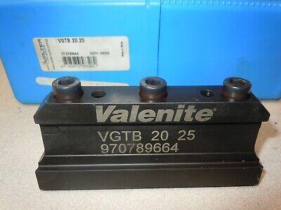 Valenite Vgtb2025 Valgroove Holder