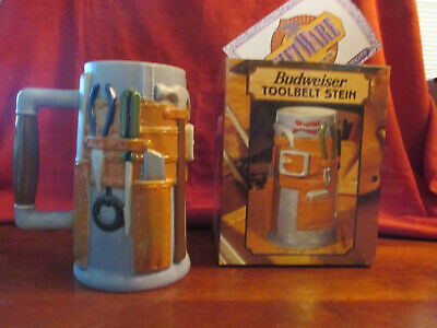 Busch-tool (Anheuser Busch  Tool Belt Stein with Box and COA Issue Year 1998. CS 320)