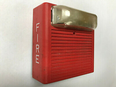 Wheelock As-24mcw Fire Alarm Hornstrobe