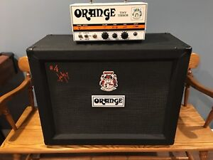 Orange Tiny Terror Amp & 2x12 Orange Cabinet