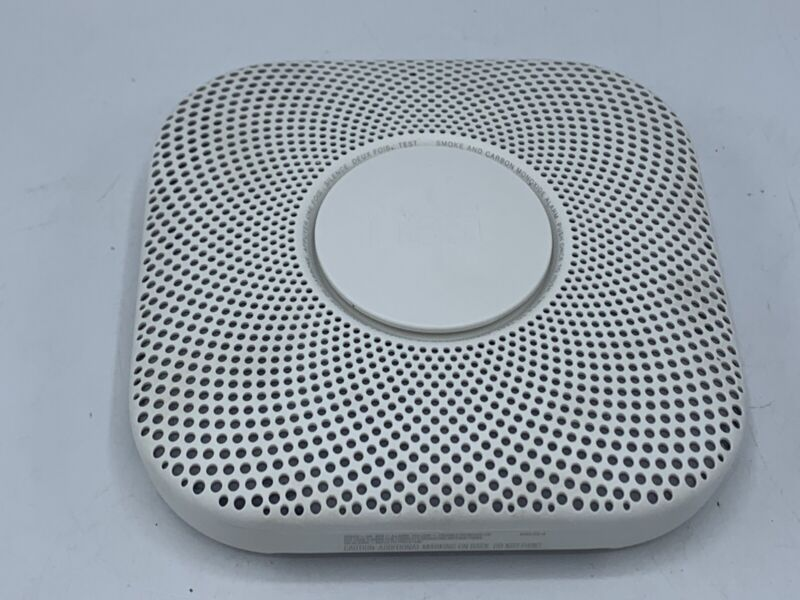 GOOGLE NEST PROTECT SMOKE ALARM AND CARBON MODEL: 06A