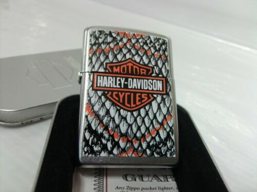 Retired 2007 Harley Davidson Snakeskin Zippo Lighter