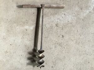 Antique Wood Drill