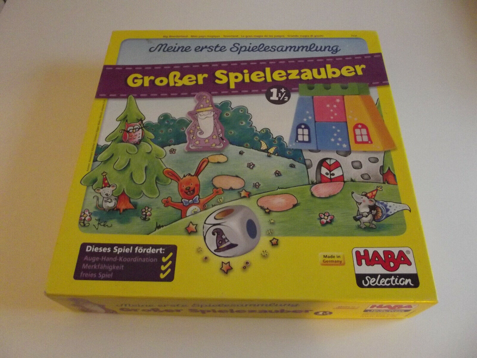"""Ravensburger Kinderspiele """"Wir spielen Baustelle"""" ab 2 1//2 Jahre Geografie Spiel"""