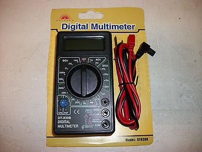 Portable Digital Multimeter LCD AC DC Voltage Electronic Meter Tester Voltmeter