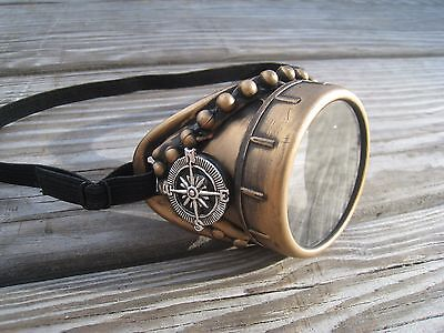 Steampunk goggles monocle glasses ViCTorian right side for burning man (Burning Man Glasses)