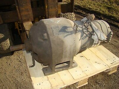 Vintage Generator General Electric A B Type Alternating Current 7 14 Kw