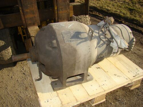 Vintage Generator General Electric A B Type Alternating Current 7 1/4 Kw