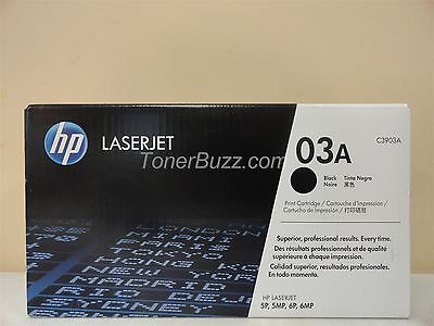GENUINE HP C3903A 03A TONER CARTRIDGE LASER JET 59 5MP 6P 6MP BRAND NEW