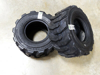TWO 18X8.50-8 BKT Skid Power Compact Tractor Tires Heavy Duty Indstrl 8 ply R-4, used for sale  Slater