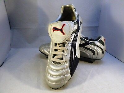 Vintage Puma Cell Football Boots Best Leather UK 8