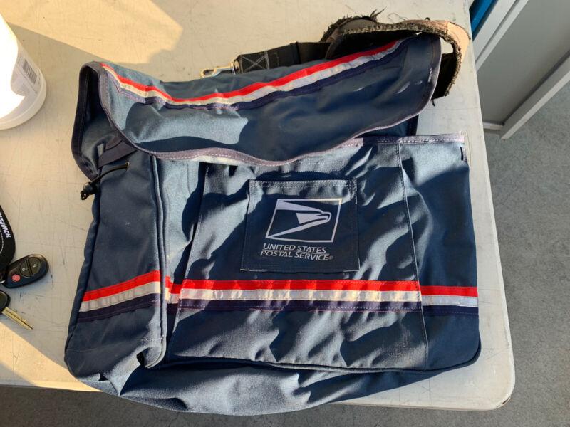 USPS Mail Carrier Satchel Messenger Bag With  Strap