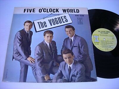The Vogues Five O'Clock World 1966 Mono LP VG++