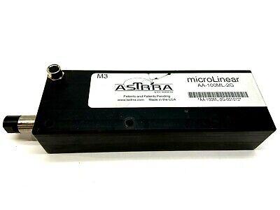 Astrra Aa-100ml-2g Micro Linear Actuator 110mm Stroke 12.7mm Shaft