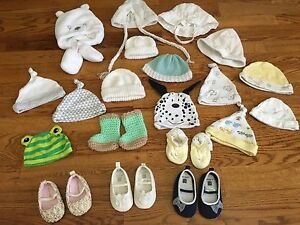 Baby hats, Slippers and Shoes