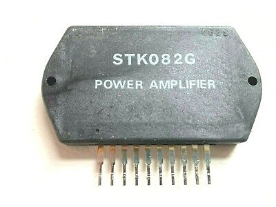 Stk082g Ic Audio Amplifier Integrated Circuit By Sanyo