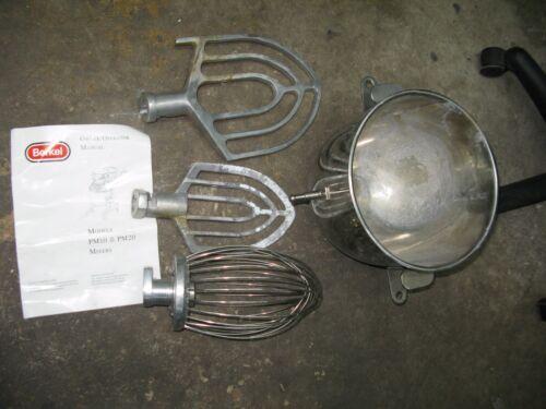 Berkel PM-10 Whip, Paddle, Bowl