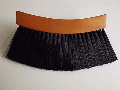 POOL OR SNOOKER TABLE - HALF MOON UNDER CUSHION/RAIL - HANDLE CLEANING BRUSH