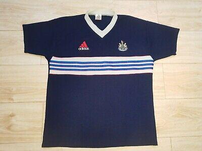Vintage 1990  Newcastle United Adidas Football Shirt Large image