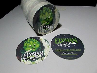 125 Elysian Space Dust IPA India pale ale beer Coasters Sleeve glass mat lift