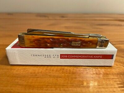 2018 Case XX 4-H COOP FFA Pocket knife with box