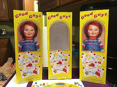 Good Guys Chucky Doll 7 Inch Tall Miniature Prop Box, Child's Play 1 Or 2