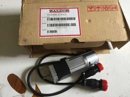 New Baldor Bsm4nr-333ngc Servo Motor Ac 100w Output 3000rpm Brushless Nema,boxzq