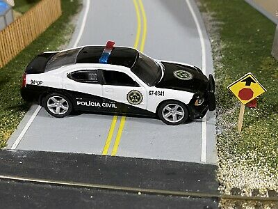 Greenlight Hollywood Fast & Furious 2011 Rio Police Dodge Charger 1:64