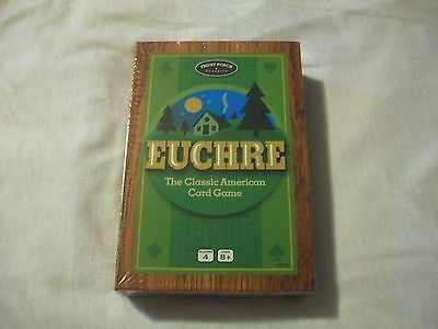 Card Game   Euchre   Front Porch Classics   4 Player   New
