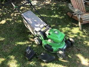 Lawn Boy self-propelled with bag. All tuned up.