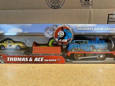 NEW Thomas the Tank Engine & ACE the Car Racer Set *Big World Adventure