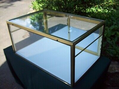 Arizona Portable Display Case Tall Showcase Jewelry Coins Antique Collectibles