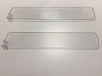 POSTEN 100x TEILER 28cm F ZIGARETTEN TRENNER FACH TEGOMETALL ZIGARETTENREGAL