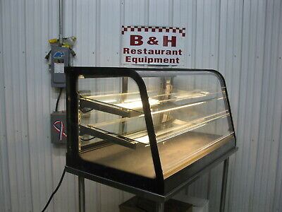 Federal 4 Lighted Self Serve Lift Up Door Glass Bakery Display Case Cd4828ss