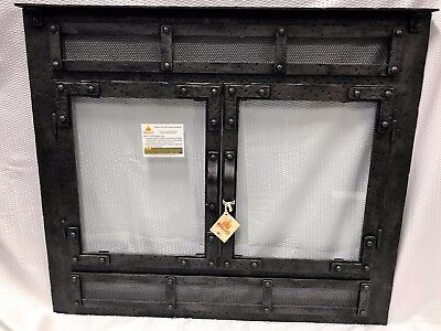 Stoll Prefab Fireplace Old World ReFace Burnished Bronze Finish 36.25