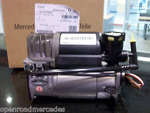 OEM-GENUINE-MERCEDES-BENZ-NEW-AIRMATIC-COMPRESSOR-PUMP-E-W211-S-V220-CLS-C219