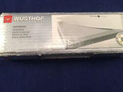 Wusthof Whetstone Knife Sharpener. 2-sided Ceramic Stone 400/2000 USED