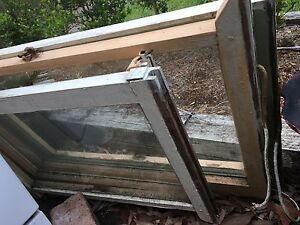 4 old wooden windows Grays Point Sutherland Area Preview