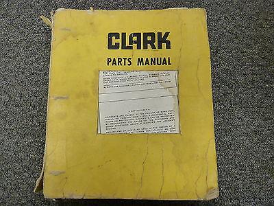 Clark Austin Western 301 Pacer And Super Powershift Grader Parts Catalog Manual