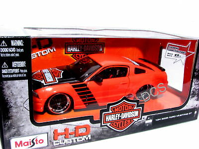 Maisto 2006 Ford Mustang GT 1/24 Harley Davidson   for sale  Shipping to Canada