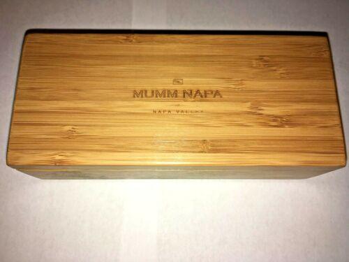 Mumm Napa - Grater Inside Bamboo Box - GUC