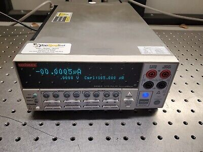 Keithley 2430-c Pulse Sourcemeter 100v10a1kw Fresh Calibration 8-2021 -2430