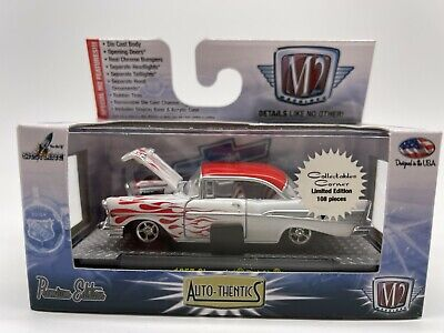 M2 Machines Raw/Super Chase 1 of 108 WW 1957 Chevrolet Bel Air Collectibles Co.