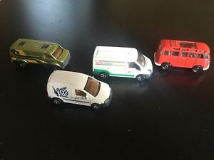 Matchbox van collection