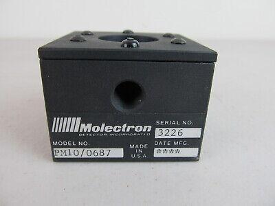 Molectron Broadband Thermal Laser Power Sensor Detector Model Pm10 0687