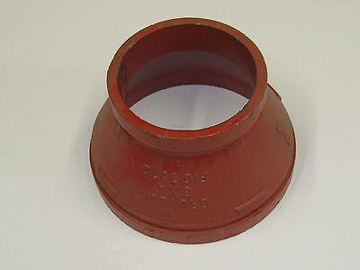 Gruvlok 6 X 4 Concentric Reducer Gr-7072