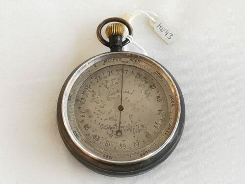 Interesting, small pocket barometer, Calderoni es Tarsa, Budapest around 1890