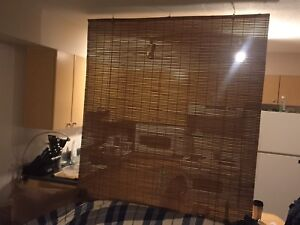 Bamboo blind. * Moving Friday*