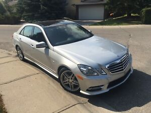 2013 E550 LOW KMS