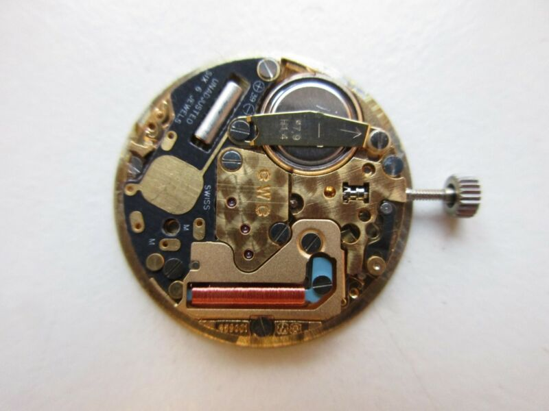 ETA cal. 959.001 Swiss quartz Concord watch movement - running